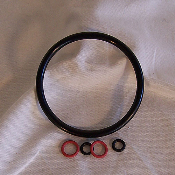 Complete Gasket Set for Pin Lock Kegs, 5 pc